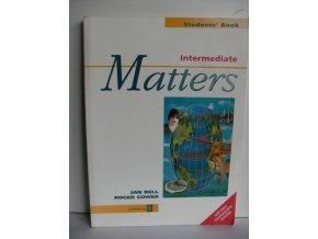 Matters Intermediate: Studentś Book