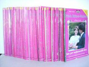 Příběhy lásky , Růžová řada sv.105-142 (38 sešitů)