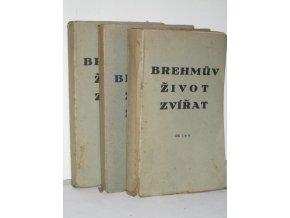 Brehmův život zvířat. Ssavci (4sv) (1929)