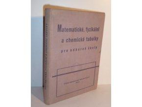 Matematické, fyzikální a chemické tabulky pro odborné školy (1962)