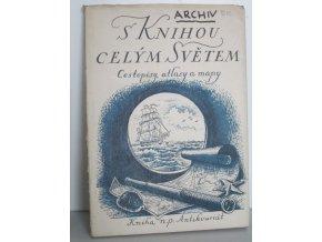 S knihou celým světem : cestopisy, atlasy, mapy : prodejní výstava, Praha 12. září - 6. října 1955