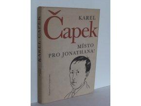 Místo pro Jonathana! : úvahy a glosy k otázkám veřejného života z let 1921-1937