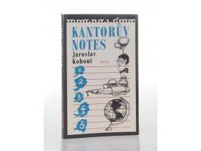 Kantorův notes (1986)