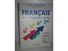 Francais:Tout le programme du college