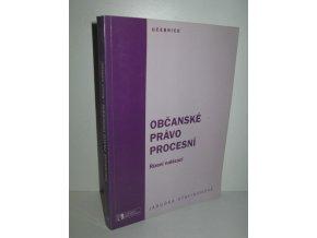 Občanské právo procesní : řízení nalézací (1996)