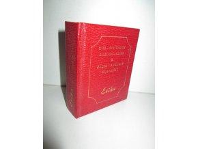 Mini-Dictionary English-Czech & česko-anglický slovníček