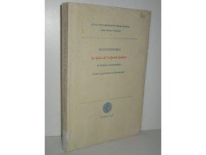 La place de l'adjectif épithète : en français contemporain : Etude quantitative et sémantique