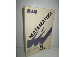 Matematika pro střední odborné školy a studijní obory středních odborných učilišť. Část 5 (1988)
