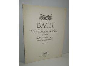 Violinkonzert No.1 a-Moll für Violine und Klavier
