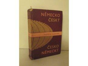 Německo-český a česko-německý kapesní slovník (1980)
