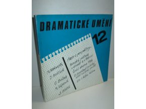 Dramatické umění 12