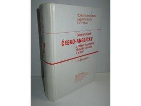 Odborný česko-anglický slovník z oblasti ekonomické, obchodní, finanční a právní