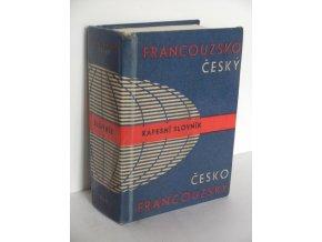 Francouzsko-český a česko-francouzský kapesní slovník (1989)
