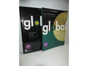 Global Intermediate coursebook+workbook with key with Audio CD