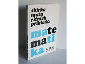 Sbírka maturitních příkladů-matematika (1979)