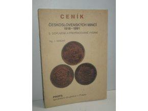 Ceník československých mincí 1918-1991
