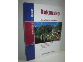 Rakousko : atlas turistických zajímavostí : 1:300000