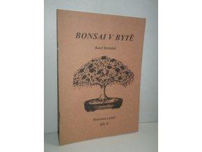 Bonsai v bytě Díl II. Pěstování a popis