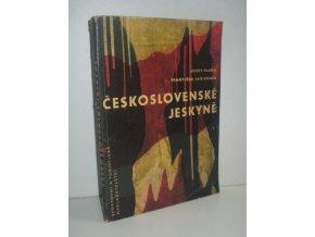 Československé jeskyně : turistické zajímavosti ČSSR