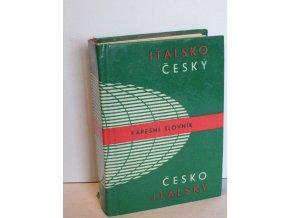 Italsko-český a česko-italský kapesní slovník : Dizionario tascabile italiano-ceco e ceco-italiano