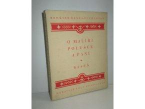 O malíři, Polušce a paní : báseň