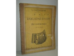 Základné etudy pre harmoniku : 24-120 basov