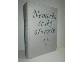 Německo-český slovník I.díl A-L