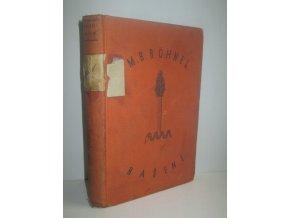 Rašení : příběh jednoho školního roku (1930)