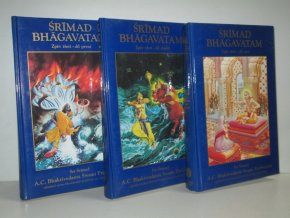 Śrīmad Bhāgavatam (3sv): s původními sanskrtskými texty, přepisem do latinského písma, českými synonymy, překlady a podrobnými výklady. Zpěv třetí díl 1-3