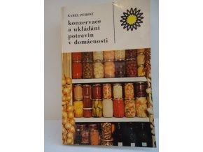 Konzervace a ukládání potravin v domácnosti (1986)