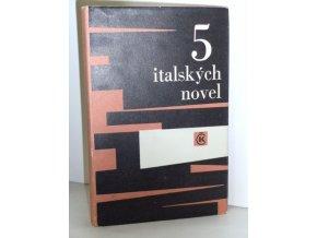 Neposlušnost - Pět italských novel
