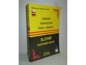 Odborný konverzační česko-německý slovník cestovního ruchu