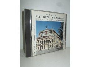Live at the Alte Oper Frankfurt : Mozart, Haydn, Schubert