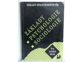 Základy psychologie, sociologie : základy společenských věd : učebnice pro střední školy (2003)