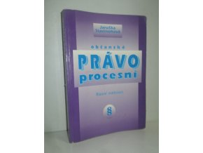Občanské právo procesní : řízení nalézací (1998)