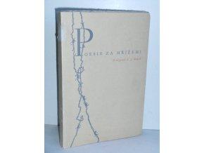 Poesie za mřížemi : anthologie