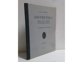Aritmetika pro III. třídu středních škol (1933)