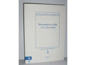 Slovanství a věda v 19. a 20. století