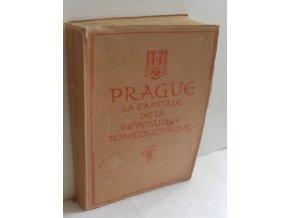 Prague la capitale de la République Tchécoslovaque