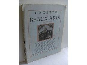 Gazette des Beaux-arts Janvier.Juin 1950