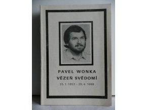 Pavel Wonka vězeň svědomí