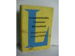 Langenscheidts Universal-Wörterbuch Dänisch : Dänisch-Deutsch, Deutsch-Dänisch