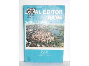 Lokal editor 94/95 : Oblastní katalog. 77, Nymburk a okolí