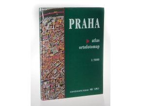 Praha : atlas ortofotomap  1:5000