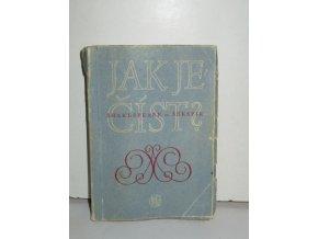 Jak je číst? : transkripce jmen cizích spisovatelů a názvů jejich děl : čtení o některých knihách mistrů krásné literatury (1956)