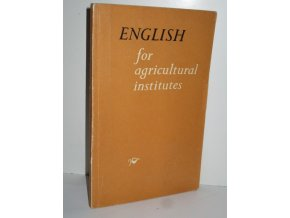 English for agricultural institutes