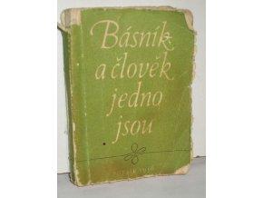 Básník a člověk jedno jsou : z knih poesie vydaných v r. 1956 : propagační almanach