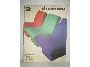 Časopis Domov 3/1971