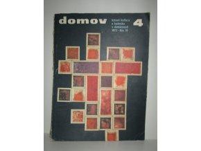 Časopis Domov 4/1972