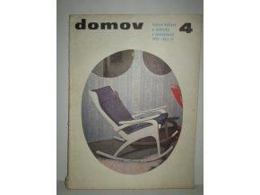 Časopis Domov 4/1974